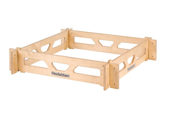 200mm Stage Riser Set for StackaStage Portable Stage System for additional tiered levels