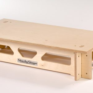 Slot-together 400mm Step Set for StackaStage Staging System