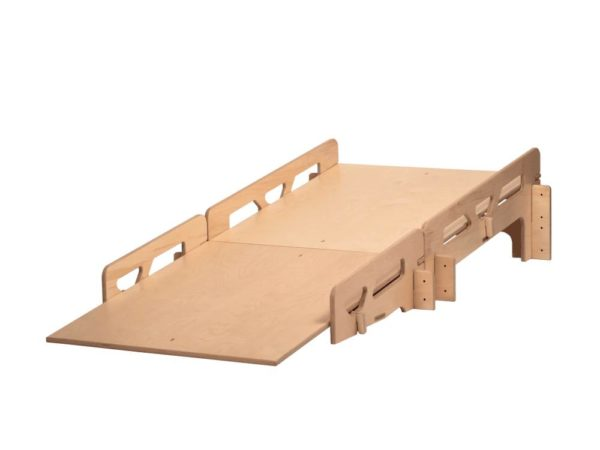 Wooden Slot-together Stage Ramp for StackaStage Staging System