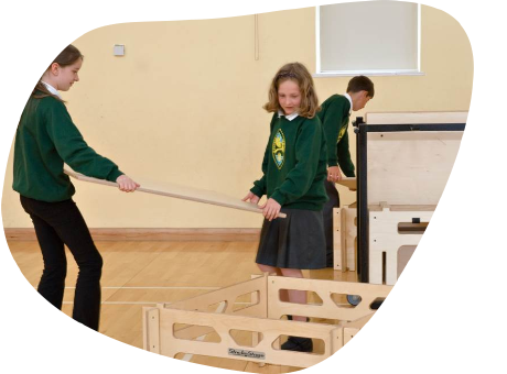 Modular Stages For Schools
